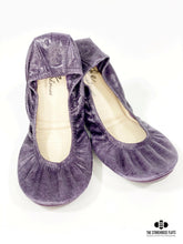 Load image into Gallery viewer, The Storehouse Flats Special Edition: Vintage Purple Oil Tanned