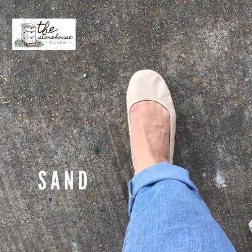The Storehouse Flats: Sand