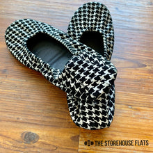 Load image into Gallery viewer, The Storehouse Flats Special Edition: Houndstooth Suede