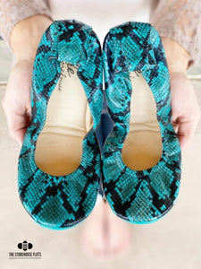 The Storehouse Flats Special Edition: Teal Snakes (Pre-order)