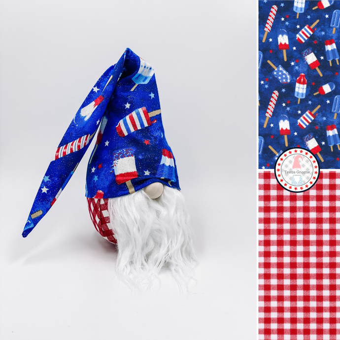 Patriotic Gnomes Wholesale: Americana Popsicles (Minimum 15 Mixed)