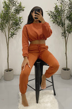 Load image into Gallery viewer, Stormi Cropped Sweater (Rust)