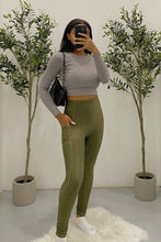 Load image into Gallery viewer, Lulu Leggings (Olive Green)