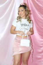 Load image into Gallery viewer, Cat Scrunchie Skirt (Baby Pink)