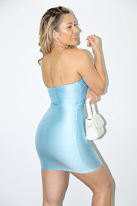 Yasmine Dress (Baby Blue)