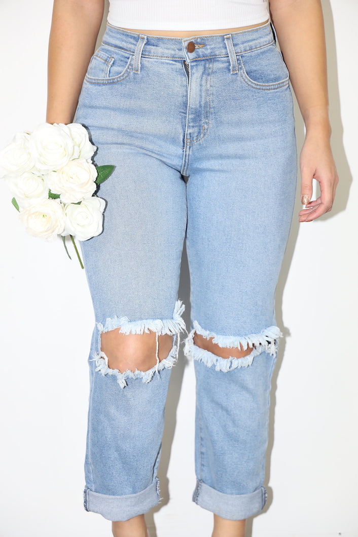 Brianne Mom Jeans (Denim)