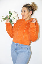 Load image into Gallery viewer, Corina Fuzzy Sweater (Orange)