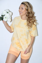 Load image into Gallery viewer, Dreamy Tee (Tie Dye Yellow)