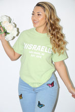 Load image into Gallery viewer, Classic Israella Tee (Kiwi Green)