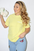 Load image into Gallery viewer, Basic Israella Tee (Yellow)