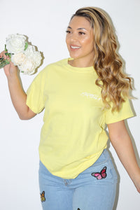 Basic Israella Tee (Yellow)