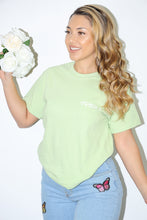 Load image into Gallery viewer, Basic Israella Tee (Kiwi Green)