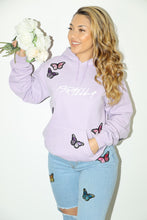 Load image into Gallery viewer, Israella Butterfly Effect Hoodie (Lavender)