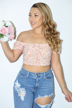 Load image into Gallery viewer, Desi Floral Top (Pink)