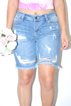 Load image into Gallery viewer, Bailey Bermuda Shorts (Denim)