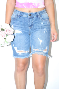 Bailey Bermuda Shorts (Denim)