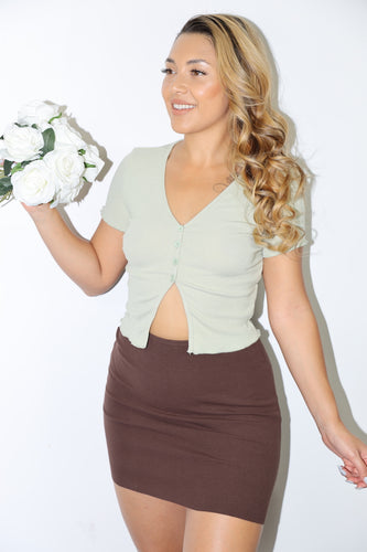 Emerly Top (Sage Green)
