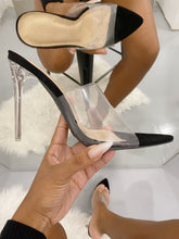 Load image into Gallery viewer, Calabasas Perspex Heels (2 Colors)