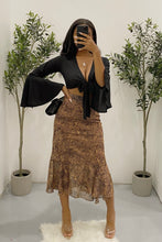 Load image into Gallery viewer, Dorothy Skirt (Brown Leopard)