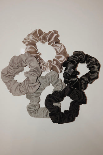 Smoke Hair Scrunchy Pack
