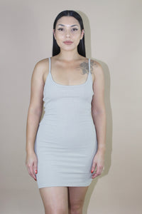 Luma Dress (Taupe)