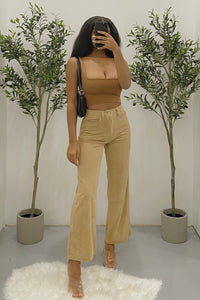 Cori Corduroy Pants (Tan)