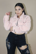 Load image into Gallery viewer, Teddy Jacket (Baby Pink)