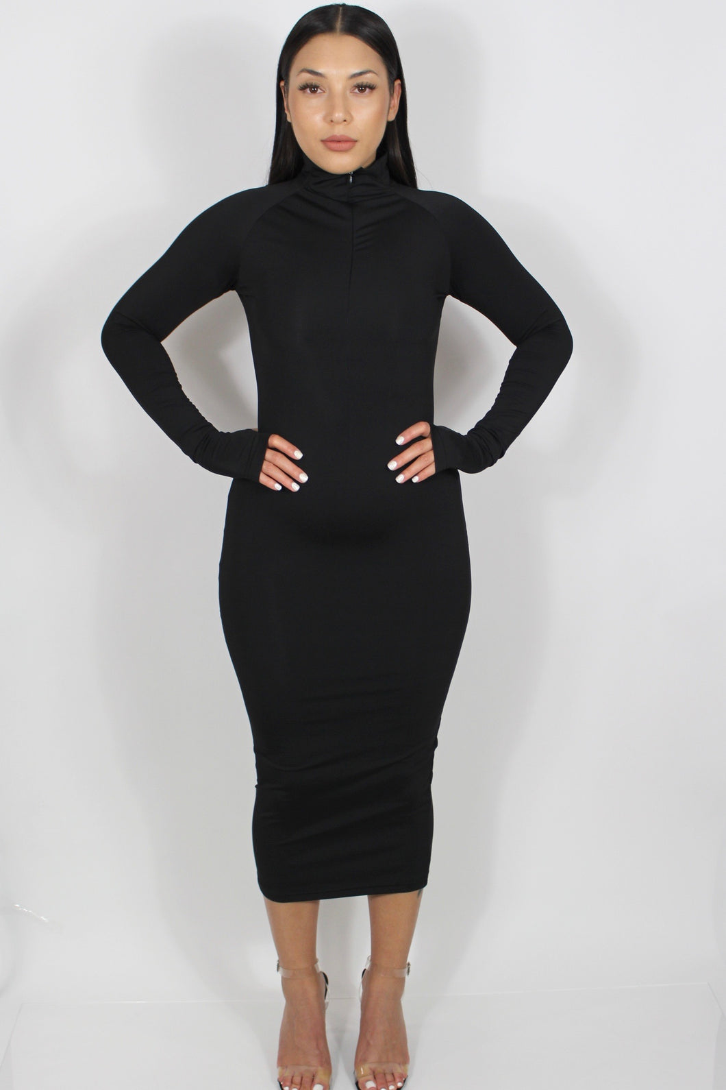 Sophie Maxi Dress (Black)