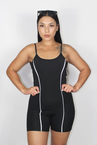 Tessa Reflective Jumpsuit (Black)