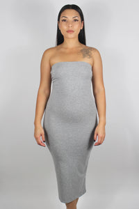 Cora Tube Dress (Grey)