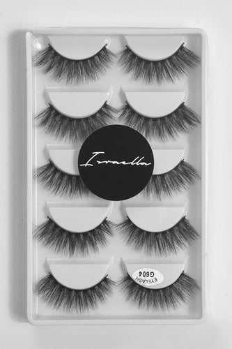 B*tch Better Have My Money 3D Mink Lashes (5 Pairs)
