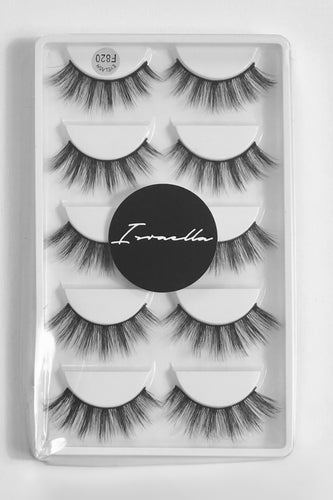 Honey 3D Mink Lashes (5 Pairs)
