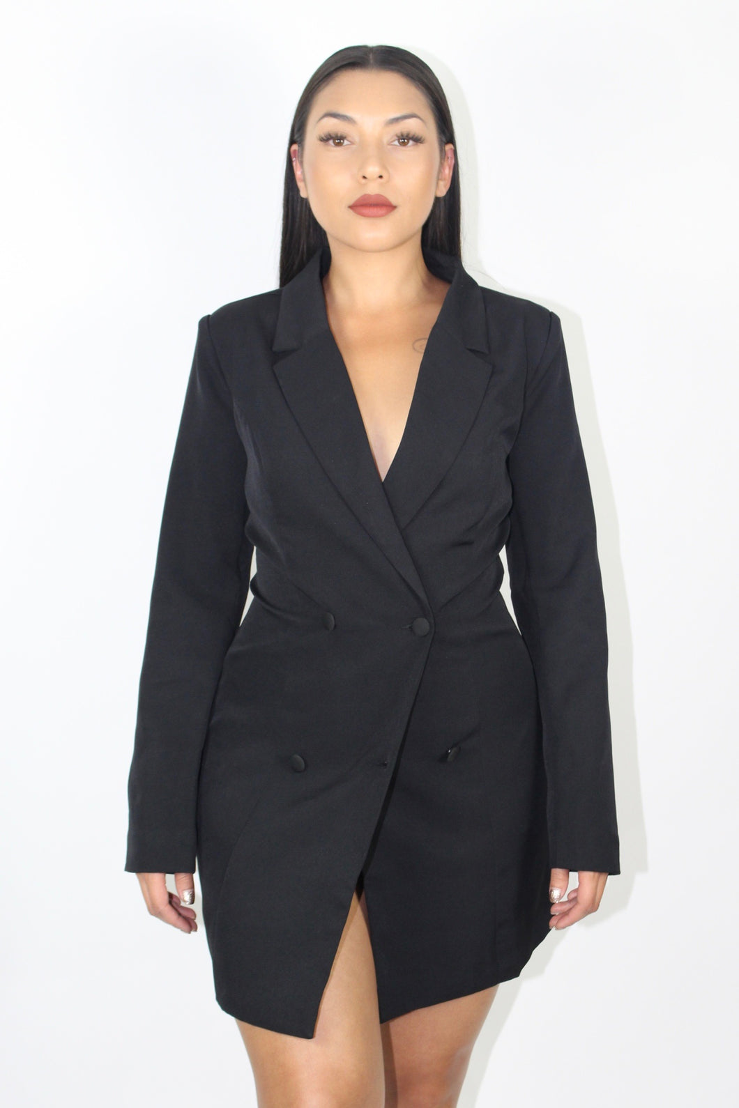Billionaire Blazer Dress (Black)