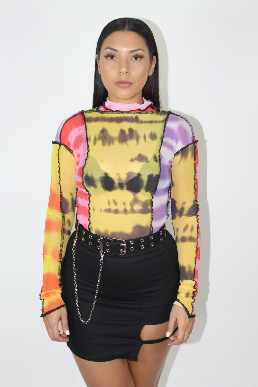 Sel Mesh Top (Multi-Color)