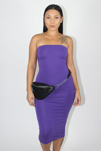 Cora Tube Dress (Purple)