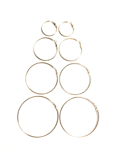 Alexis Hoop Earrings Set