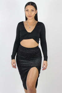 Thalia Top (Black)