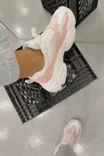 Load image into Gallery viewer, Blush Sneakers (White/Pink)