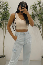 Load image into Gallery viewer, Gina Crop Top (Sand Brown)
