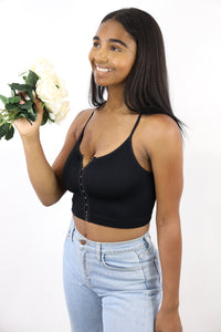 Myrah Crop Top (Black)
