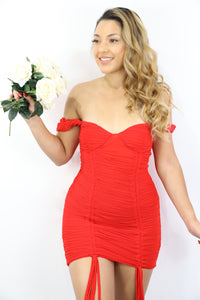 Marilyn Dress (Red)