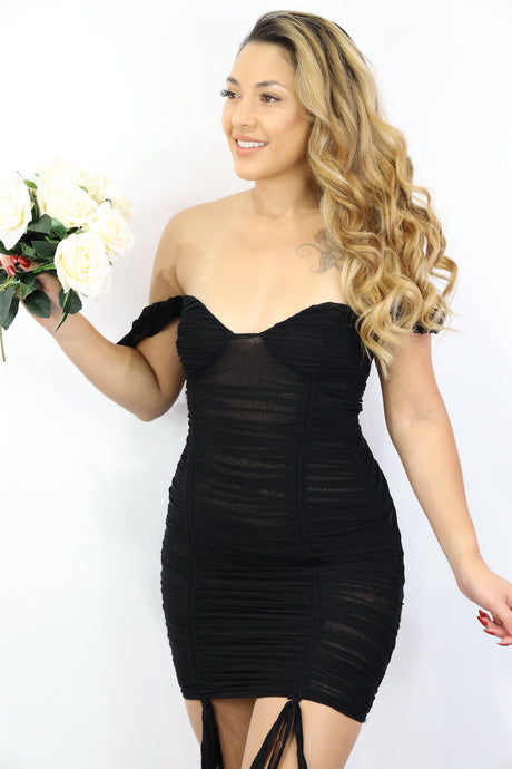 Marilyn Dress (Black)