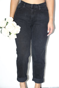 Tony Mom Jeans (Black)