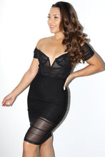 Load image into Gallery viewer, Cosmo Dress (Black)