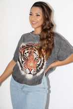 Load image into Gallery viewer, Tiger Mist Tee (Charcoal Grey)