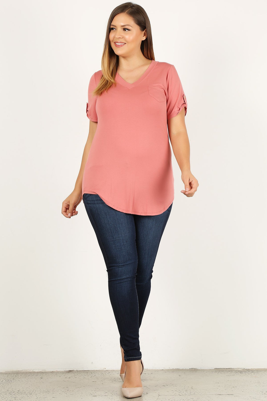 Janelle Top (Mauve)