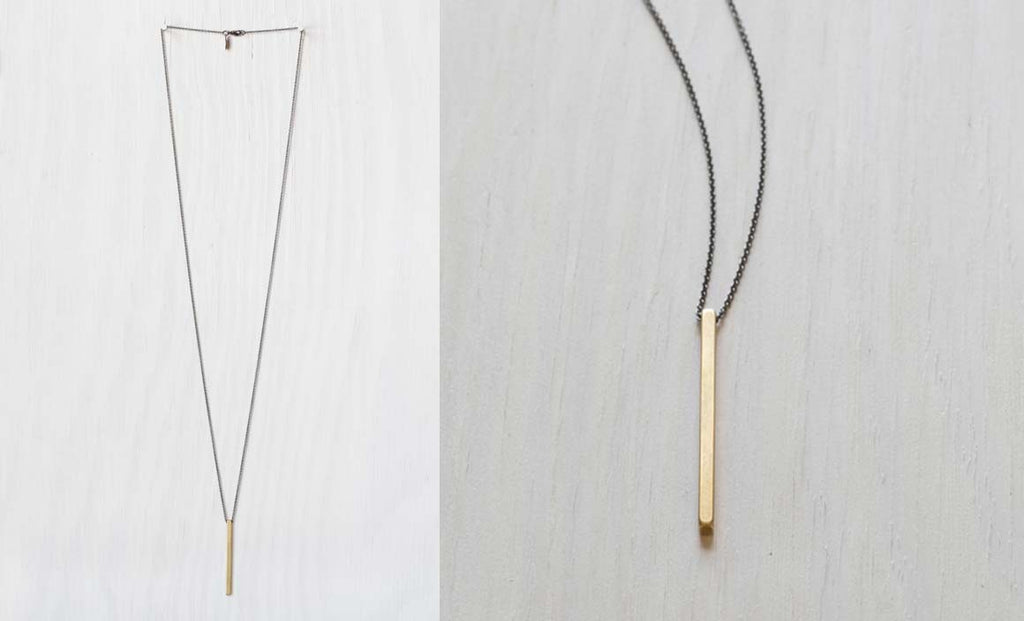 SIMPLE ROD NECKLACE