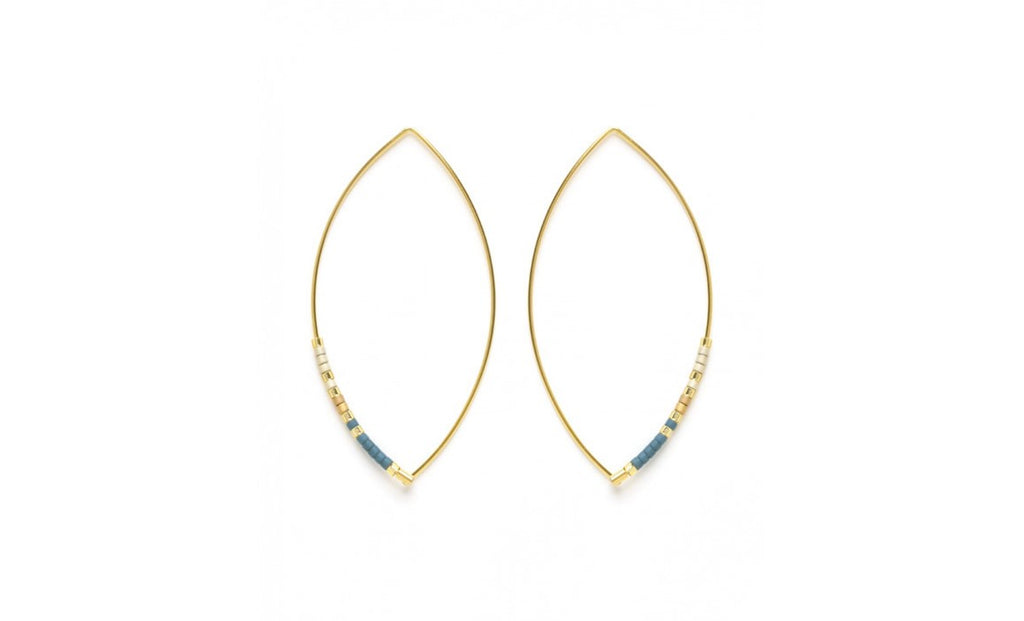 SKY MARQUISE EARRINGS