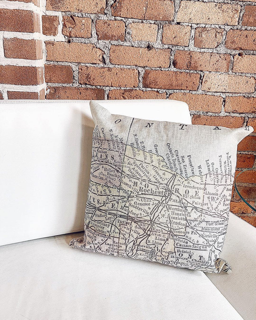 ROC MAP PILLOW