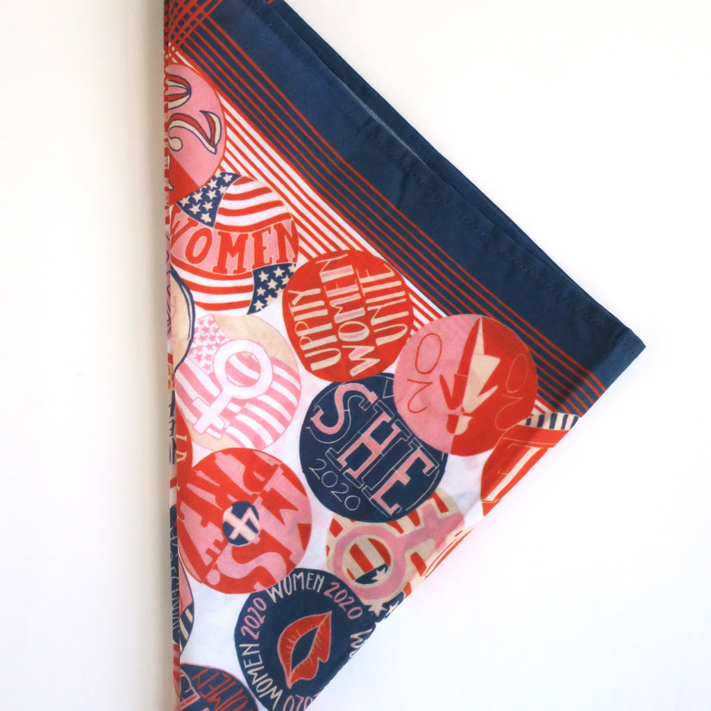 VOTES-FOR-WOMEN BANDANA SCARF